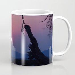 African Sunset - Blue Coffee Mug