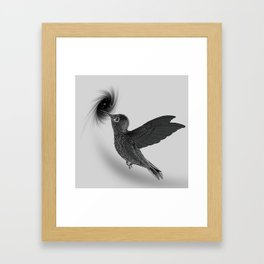 BlackBird 2 Framed Art Print