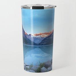 Mountains lake Travel Mug