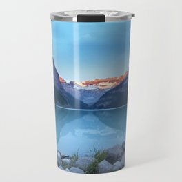 Mountains lake Travel Mug