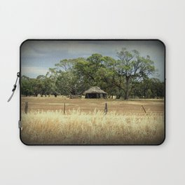 Mid 1800s Thatched Barn Laptop Sleeve