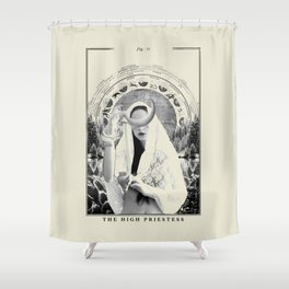 Fig. II - The High Priestess Shower Curtain