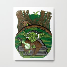 The Dagobah Connection Metal Print