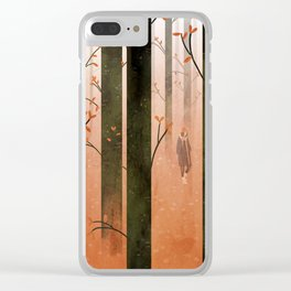 a forest Clear iPhone Case