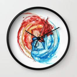 Symbiosis Wall Clock