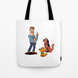 Dogs and Trainer Tote Bag