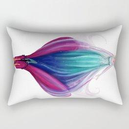 The Icicle Melts Rectangular Pillow