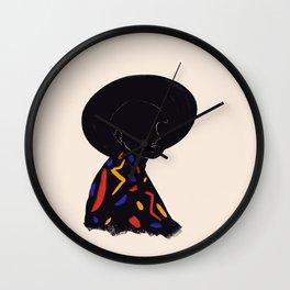 Black hat Wall Clock