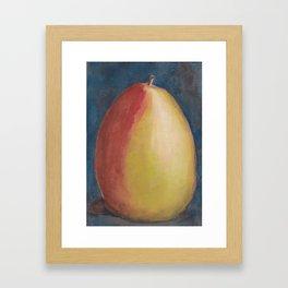 Pear Painting Framed Art Print