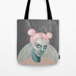 Wild Cotton Candy Tote Bag