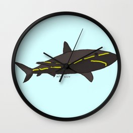 Street Shark Wall Clock