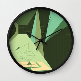 Maneuver Wall Clock