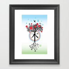 Árbol - 木 - Tree Framed Art Print