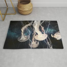 Space Jellyfish Rug