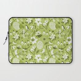 Finally Easter! [mono green] Laptop Sleeve