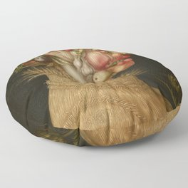 Giuseppe Arcimboldo - Summer Floor Pillow