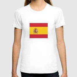 Flag of spain-spain,flag,flag of spain,espana,spanish,espanol,Castellano,Madrid,Barcelona, T-shirt