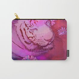 Tiger in Bath Carry-All Pouch