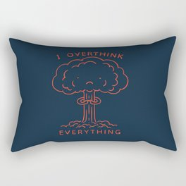 Overthink Rectangular Pillow