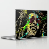 reggae Laptop & iPad Skins featuring Under the reggae mode by alfboc