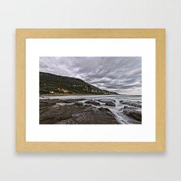 Stormy Sunrise Framed Art Print