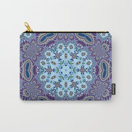 Modern Traditional Lacey Mandala Carry-All Pouch