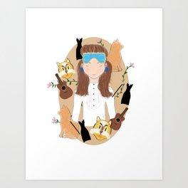 Holly Golightly is my Mood Art Print
