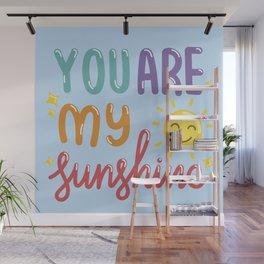 The Sunshine Love Wall Mural