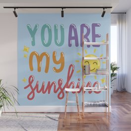 The Sunshine Love Wall Mural