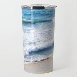 CALIFORNIA COAST - PACIFIC OCEAN BLUE Travel Mug