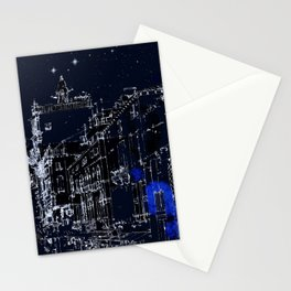 Night vision in time Stationery Cards