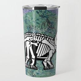 Triceratops Fossil Travel Mug