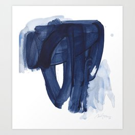 Indigo #4 Art Print