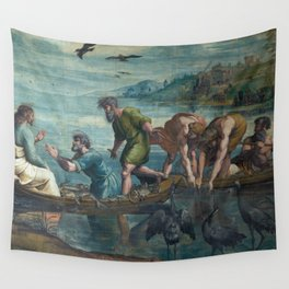 Raphael - The Miraculous Draft of Fishes Wall Tapestry