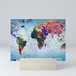 map Mini Art Print