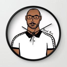 Beard Boy: Jerome Wall Clock