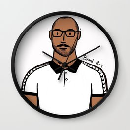 Beard Boy: Jerome Wall Clock