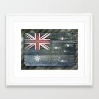 australia Framed Art Prints featuring Australia by Arken25