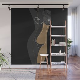 Caramel Night Wall Mural