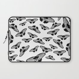 Butterflies in black and white Laptop Sleeve