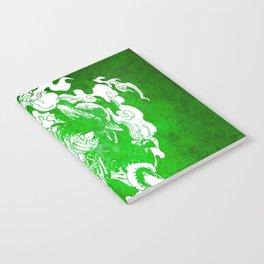 fire luffy Notebook