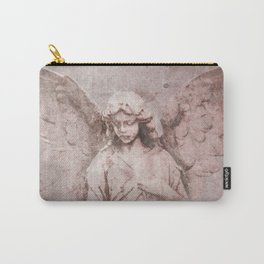 A Guardian Angel, To Watch Over Us A322b Carry-All Pouch