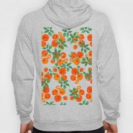 Fresh Orange Juice Pattern Hoody