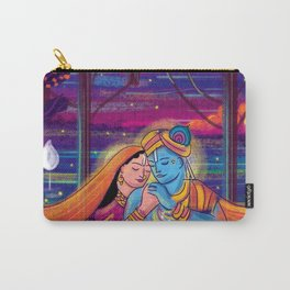 Radha Krishna Carry-All Pouch