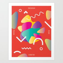 Design With Fun ~ chapter 02 Art Print