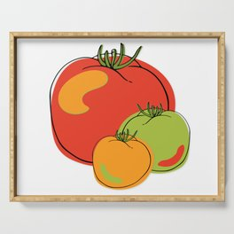 cheery Cherry Tomato tomatoes Serving Tray
