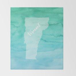 Sweet Home Vermont Throw Blanket