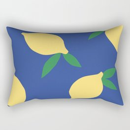 Lemons - Collage Rectangular Pillow