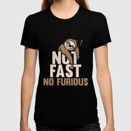 No Fast No Furious T-shirt