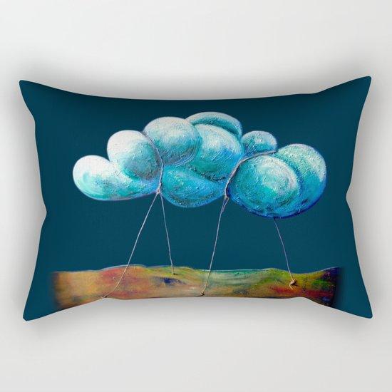 Cloud Tied Rectangular Pillow